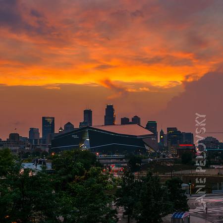 Skyfall in Minneapolis