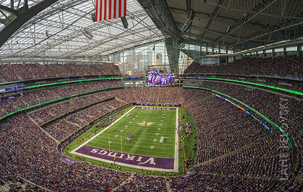 US Bank Stadium - Defenders of the North #skol