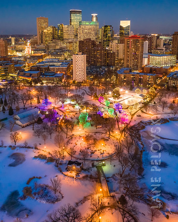 Holidazzle from Above
