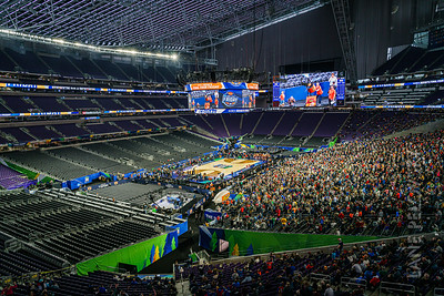 US Bank Stadium - Final Four Configuration 2019