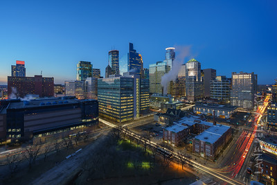 Downtown Minneapolis looking NW