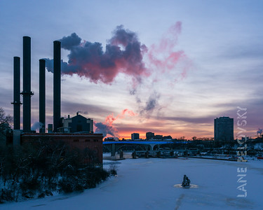 Southeast Steam Plant - Mississippi Polar Vortex - January 2019
