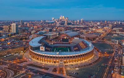 University of Minnesota and TCF Bank Stadium