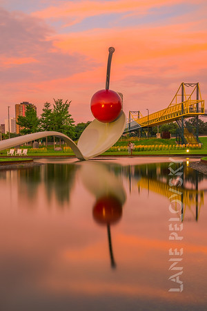 Spoonbridge and Cherry - Walker Sculpture Garden