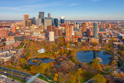 Minneapolis Loring Park in the Fall