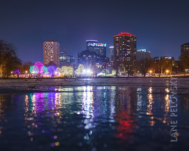 Holidazzle Reflections