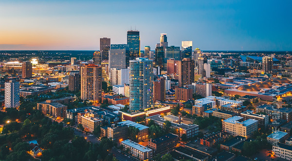 Downtown Minneapolis Summer - North