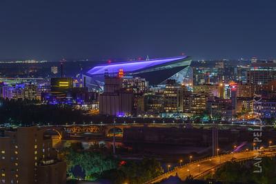 Aquatennial 2019 - US Bank Stadium before Fireworks