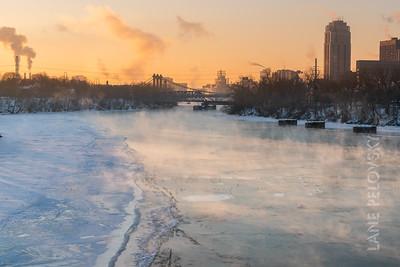 Mississippi River Smoke
