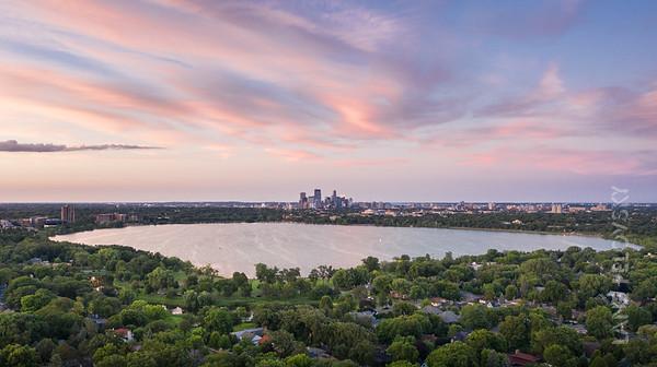 Bde Mka Ska - City of Minneapolis in the Summer