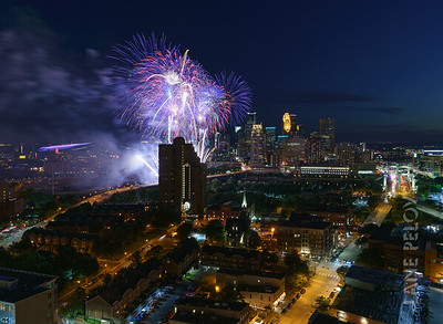 Aquatennial 2019 - Fireworks