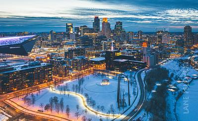 Gold Medal Park - Winter