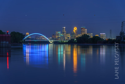 Mississippi River in Minneapolis
