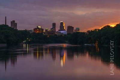 Minneapolis Rainy Splendor - After