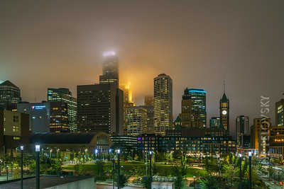 Foggy Minneapolis