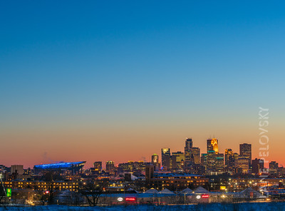 Minneapolis - #MNBLUE for Colorectal Cancer Awareness