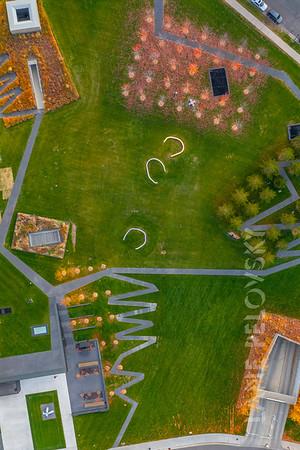 Minneapolis Sculpture Garden in the Fall: Patterns