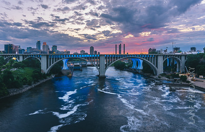 Stormy Minneapolis Colors