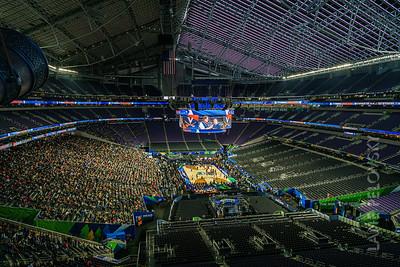 US Bank Stadium - Final Four Configuration 2019