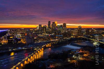 Mill City Sunset