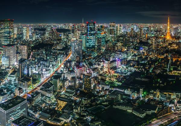 Roppongi, Asakasa and Tokyo Skytree 6