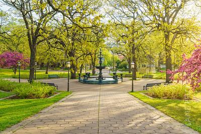 Irvine Park - Fountain Sun