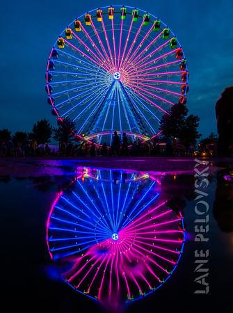Big Wheel Reflections