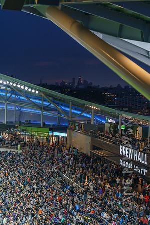 Architecture at Allianz Field