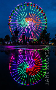 Big Wheel Reflections