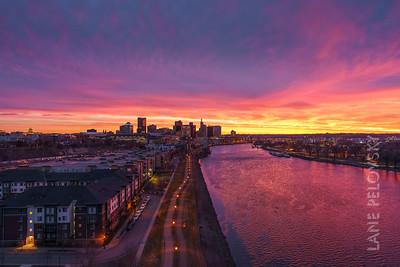 Saint Paul - Spring Sunrise