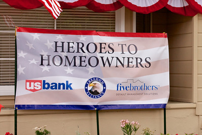 Freedom Alliance/US Bank Home for Adcock Family