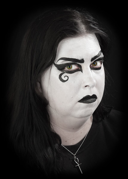 "Cory as ""Death"" from The Sandman Series"