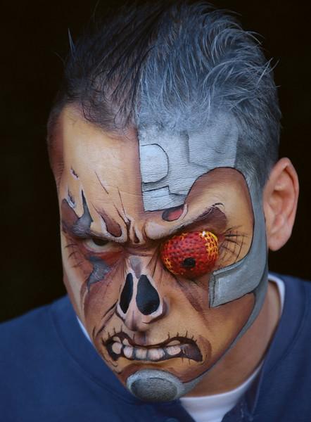 "Sean as ""Deathlok"" from Astonishing Tales"