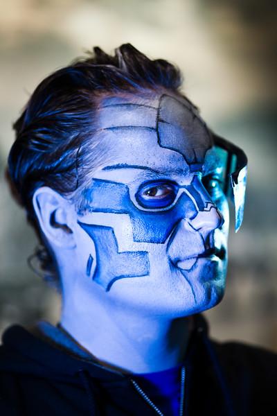 """Dana as """"Garrus Vakarian"""" from Mass Effect"""