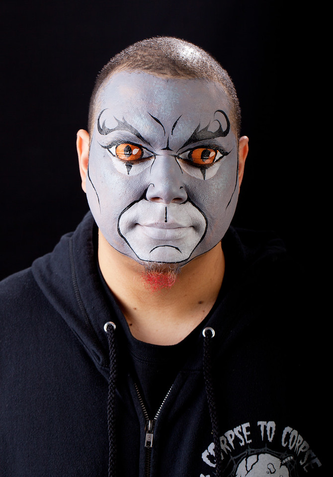 "Ray as ""Panthro"" from Thunder Cats"