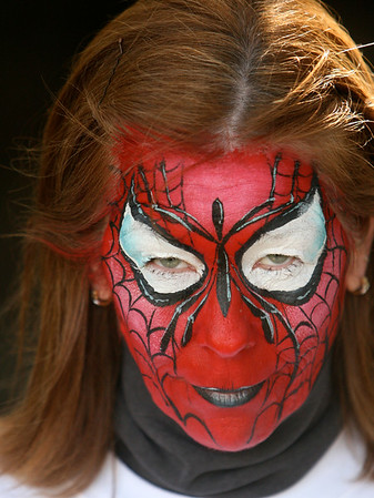 "Lindy as ""Spider Woman"""