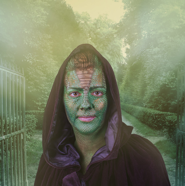 "Josie as ""Madame Vastra"""