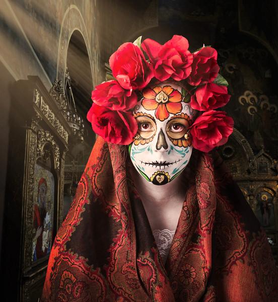 Gia Zopatti as a Sugar Skull