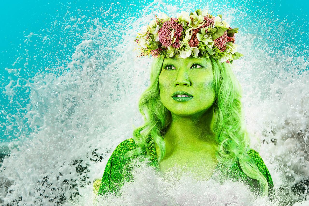 """Vanessa Hatakeyama as """"Te Fiti"""" from Moana"""
