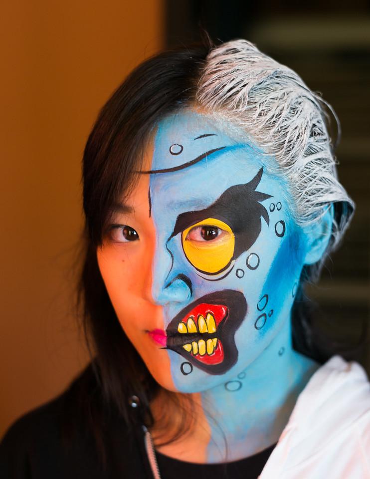 "Chen Liu as ""Two Face"""
