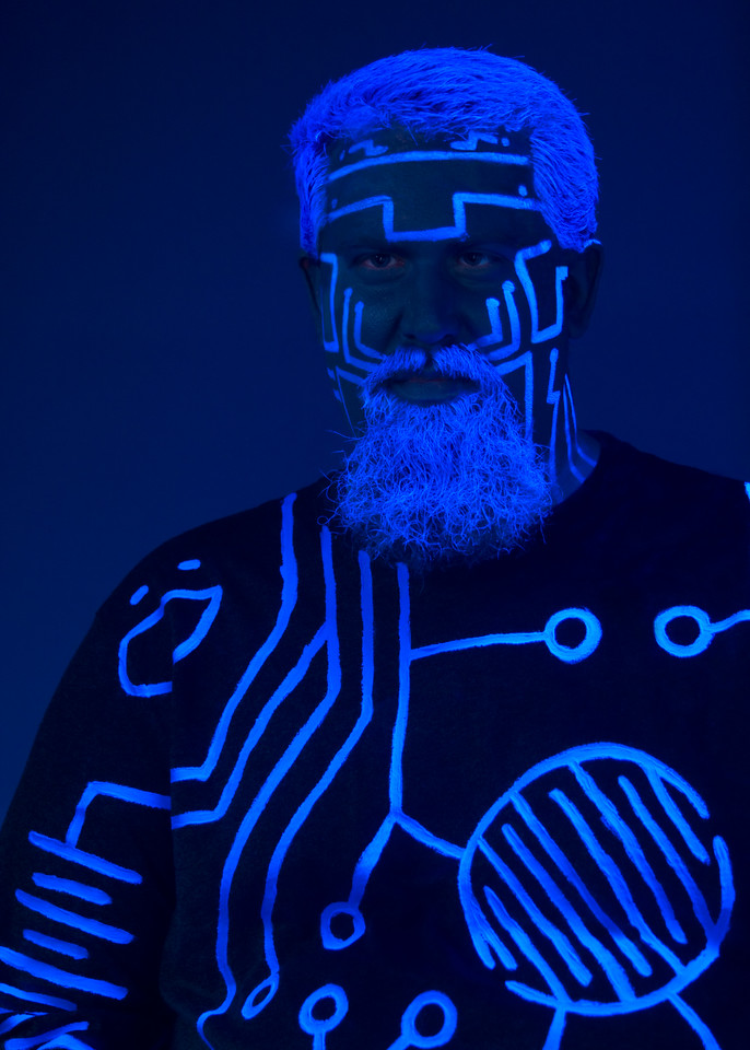 "Cabbey as ""Tron"""