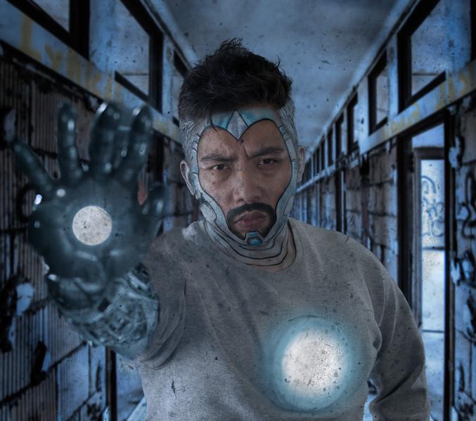 "Michal P as ""Iron Man Superior"""