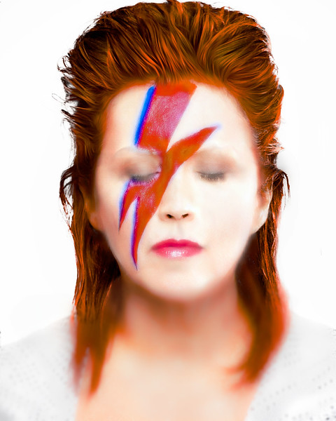 "Vivian Frerichs as ""Ziggy Stardust"""