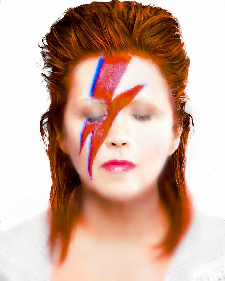 """Vivian Frerichs as """"Ziggy Stardust"""""""