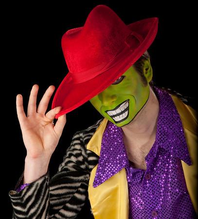 """Sebastian as """"The Mask!"""""""