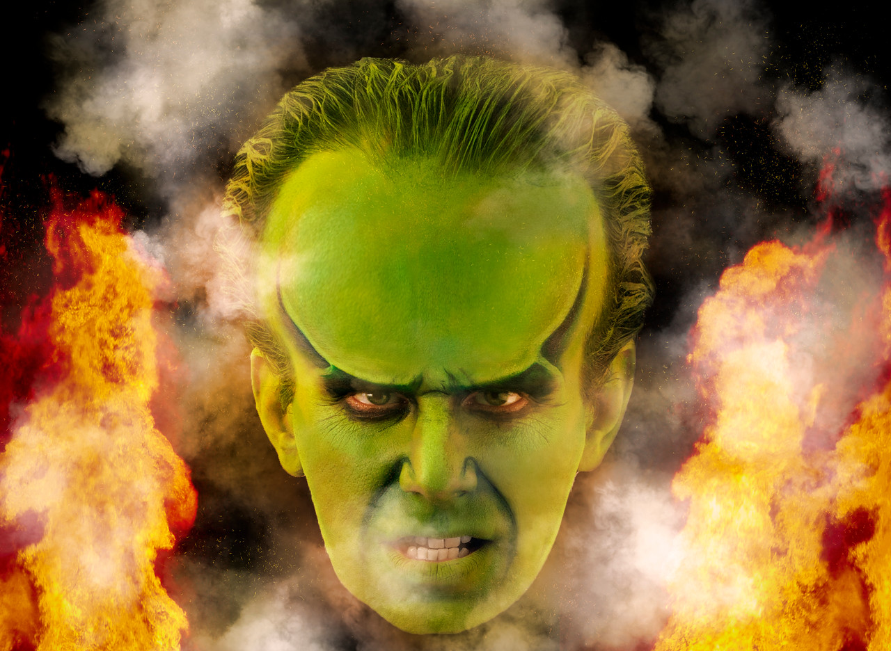 """Philip as """"Oz"""" from The Wizard of Oz"""