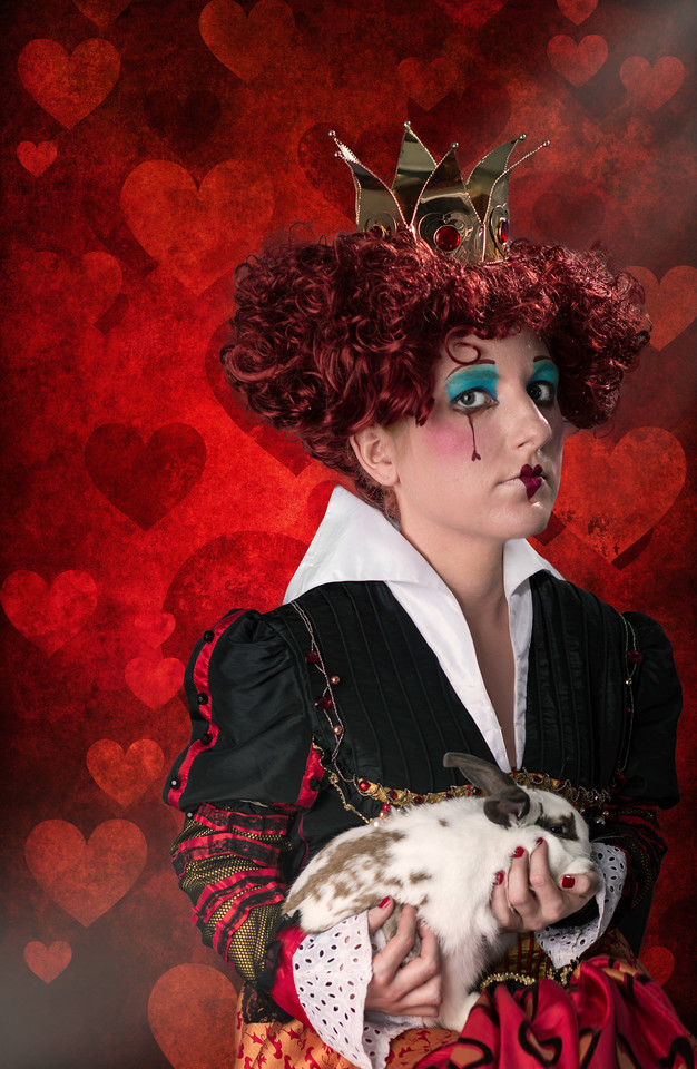 "Haley as ""The Queen of Hearts"""