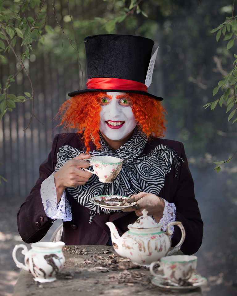 """Danny Zevallos as """"The Mad Hatter"""""""
