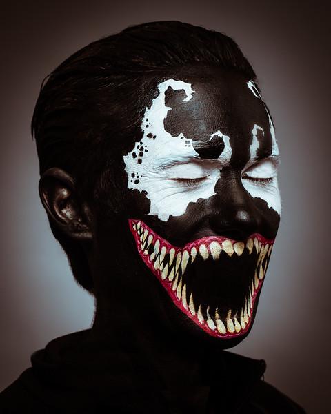 "AJ Lemos as ""Venom"""