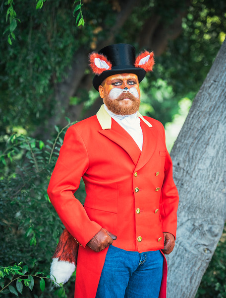 "Luke Welling as ""The Fox Hunter"""